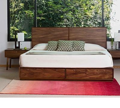 Recamaras modernas king size 57682 pixhd for Recamaras de madera modernas king
