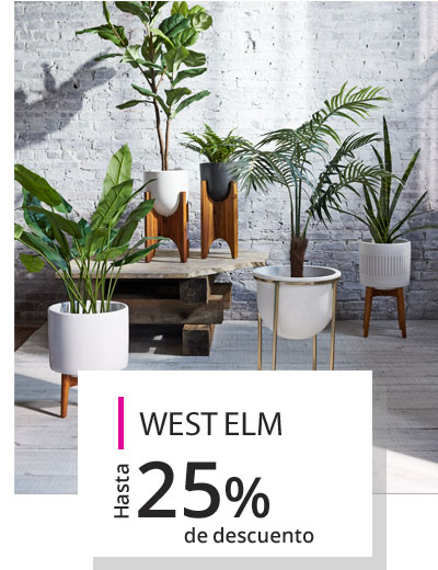 West Elm, West Elm México, Muebles, Iluminación, West Elm Mx, West Elm en Liverpool